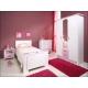 Dětská postel Palace pink v pokoji