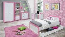 Dětský pokoj Julien růžový