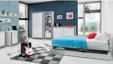 Dětský pokoj Julien šedý