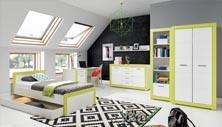 Dětský pokoj Julien zelený